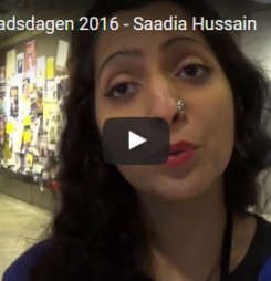 Saadia Hussain – Konsten att hitta hem…!